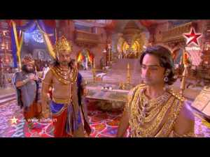 A still from Star TV serial Mahabharat
